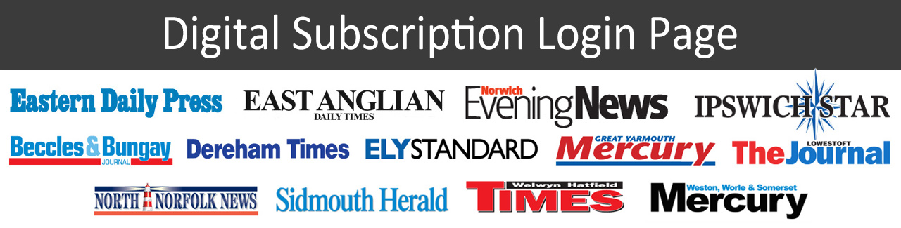 Digital Subscription Login Page